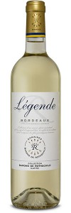 BORDEAUX: Bordeaux Blanc  legende  2016