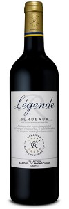 BORDEAUX: Bordeaux Rouge  legende 2016